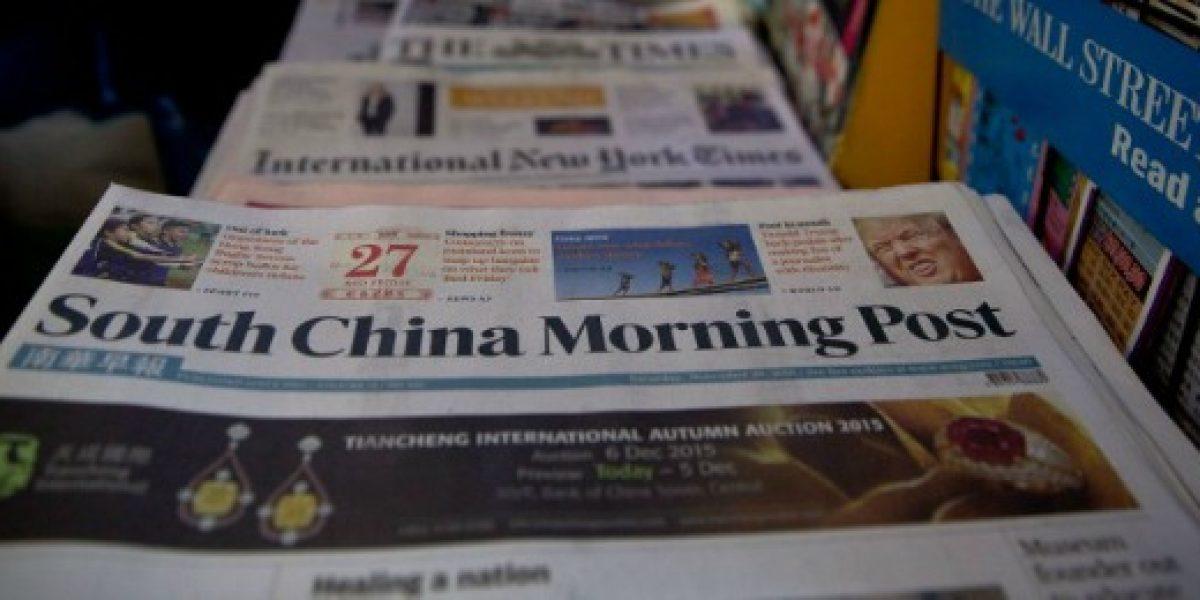 Alibaba anuncia la compra de diario en inglés más influyente de Hong Kong