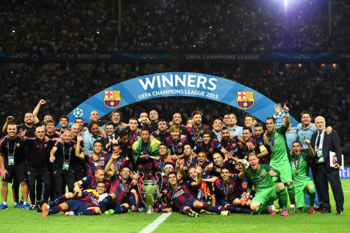 7. Barcelona Foto:Getty Images. Imagen Por: