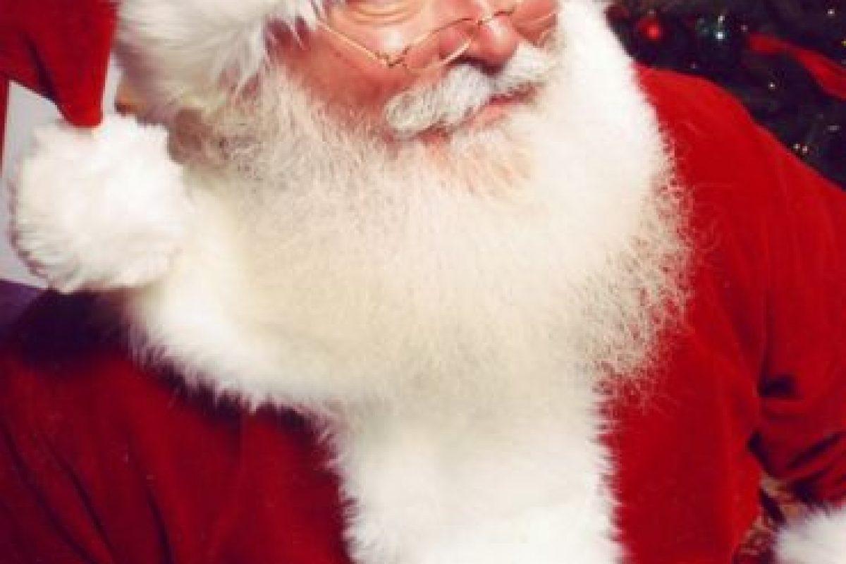Para algunos, Santa Claus sí existe. Foto:vía Wikipedia. Imagen Por: