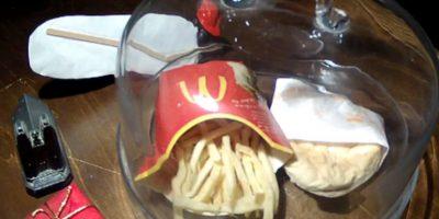Así luce una hamburguesa de McDonald