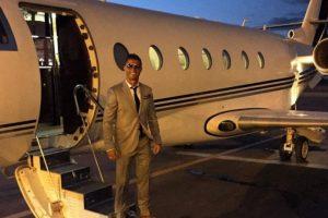 """Luego, """"CR7"""" adquirió un jet privado, y gracias a él, comenzó a viajar con mayor frecuencia a Marruecos para estar con su amigo. Foto:Vía instagram.com/Cristiano. Imagen Por:"""