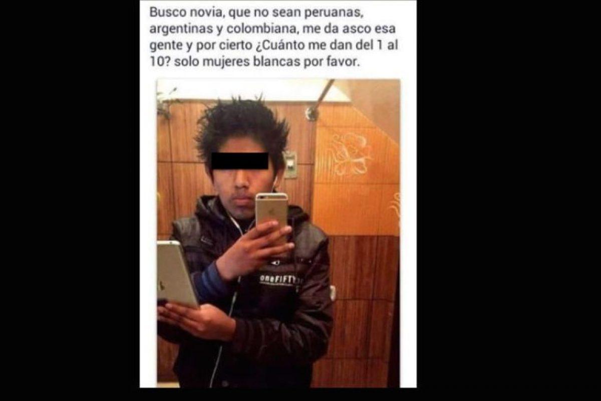"""También los exigentes de Internet (""""feas no acepto""""). Foto:vía Facebook. Imagen Por:"""