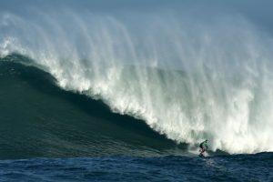 Competencia de surf en España. Foto:AFP. Imagen Por: