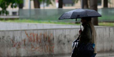 Se esperan chubascos durante la tarde en algunos sectores de Santiago