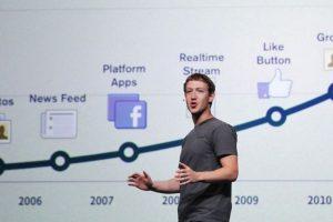En la conferencia para desarrolladores F8 en septiembre de 2011. Foto:Getty Images. Imagen Por: