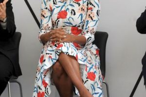 Michelle Obama tiene un sencillo, pero original sentido de la moda. Foto:Getty Images. Imagen Por: