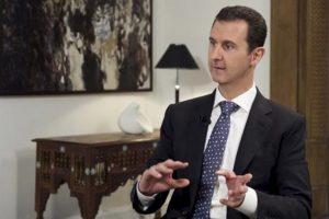 3. Presidente de Siria, Bachar al Asad desmintió que Rusia construiría una base en Siria. Foto:Vía Youtube. Imagen Por: