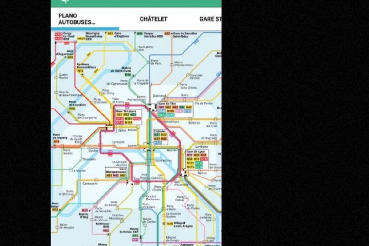 Estas son sus rutas. Foto:Captura de Pantalla. Imagen Por: