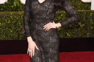 Laura Prepon, como Morticia Addams. Foto:vía Getty Images. Imagen Por: