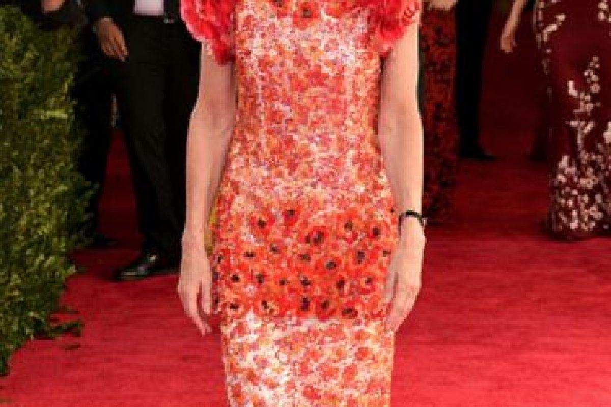 A Anna Wintour Karl Lagerfeld la odia. Foto:vía Getty Images. Imagen Por: