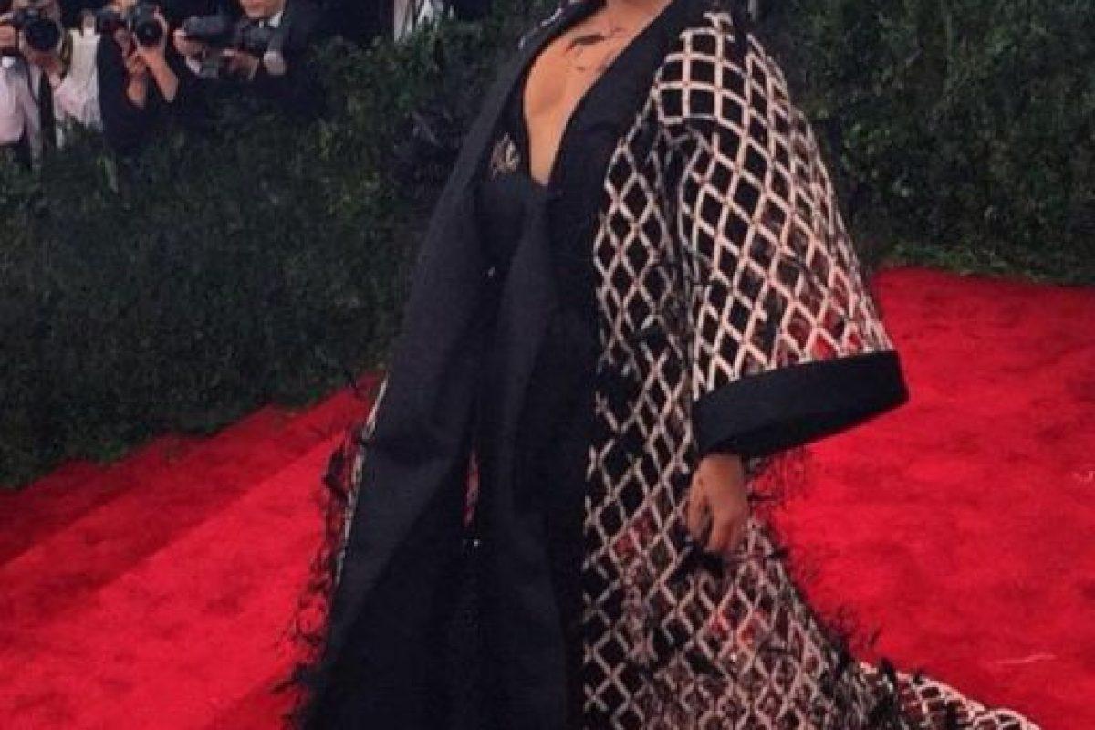 """Así como su disfraz de """"Rita Repulsa"""" en la gala del MET. Foto:vía Getty Images. Imagen Por:"""