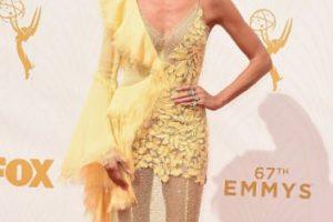 Heidi Klum, en los Emmy, como patinadora artística. Foto:vía Getty Images. Imagen Por: