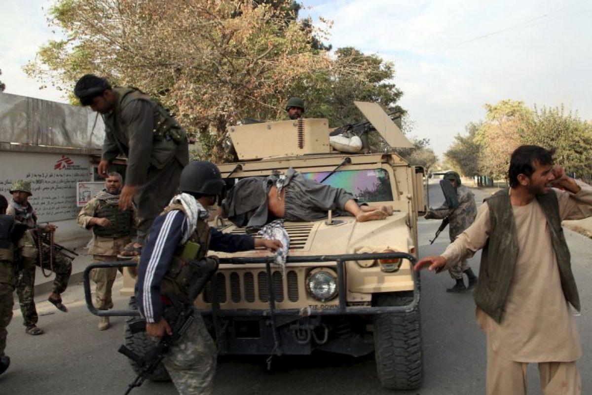 """Los médicos han señalado al ataque en Kunduz como un posible """"crimen de guerra"""". Foto:AP. Imagen Por:"""