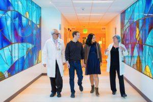 Conocieron a los médicos. Foto:facebook.com/zuck. Imagen Por: