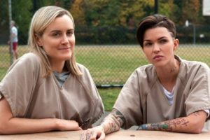 """""""Stella Carlin"""" y """"Piper Chapman"""" Foto:vía Netflix. Imagen Por:"""