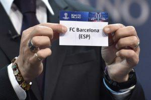 Barcelona, el equipo defensor del título se enfrentará al Arsenal, mientras que el Real Madrid se medirá frente a la Roma. Foto:AFP. Imagen Por:
