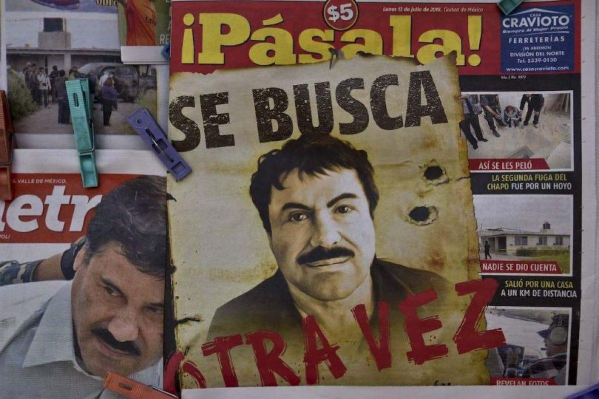 1. En 2001 también se escapó. Foto:AFP. Imagen Por: