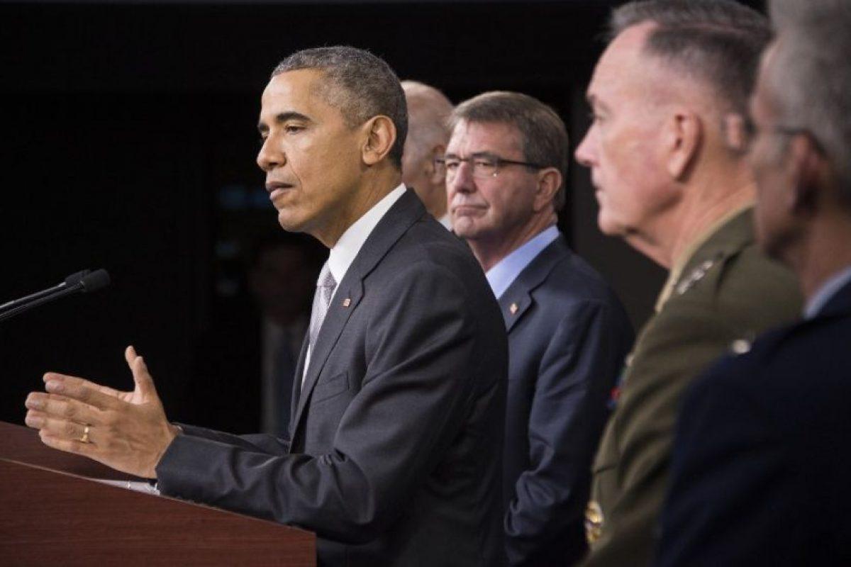 El mandatario aseguró que desde noviembre la coalición intensificaron los ataques contra el EI. Foto:AFP. Imagen Por: