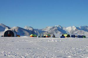 """Así se ve la base Estación Polar Conjunta """"Glaciar Unión"""" Foto:Jaime Liencura / Publimetro. Imagen Por:"""