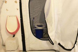 Estos son los baños dentro del refugio Foto:Jaime Liencura / Publimetro. Imagen Por: