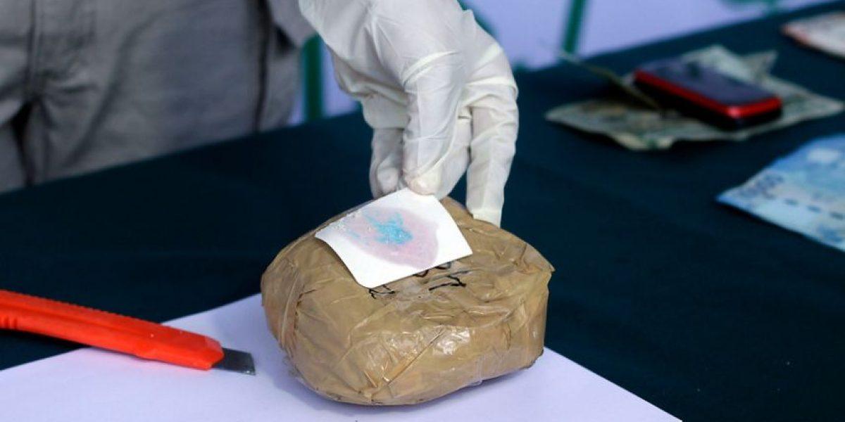 O.S.7 incauta cerca de 40 kilos de droga en equipajes de buses