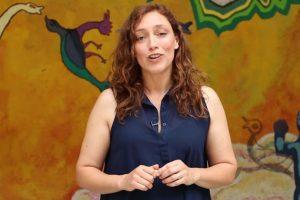 Sonia Pérez, profesora del curso Foto:Captura Youtube. Imagen Por: