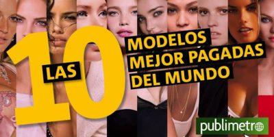 Infografía: las 10 modelos mejor pagadas del mundo