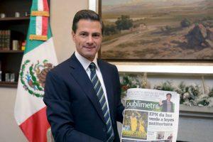Enrique Peña Nieto: México, motor de América Latina Foto:Nicolás Corte / Publimetro México. Imagen Por: