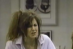 Aniston inició su carrera en la década de los años 80. Foto:vía youtube.com. Imagen Por: