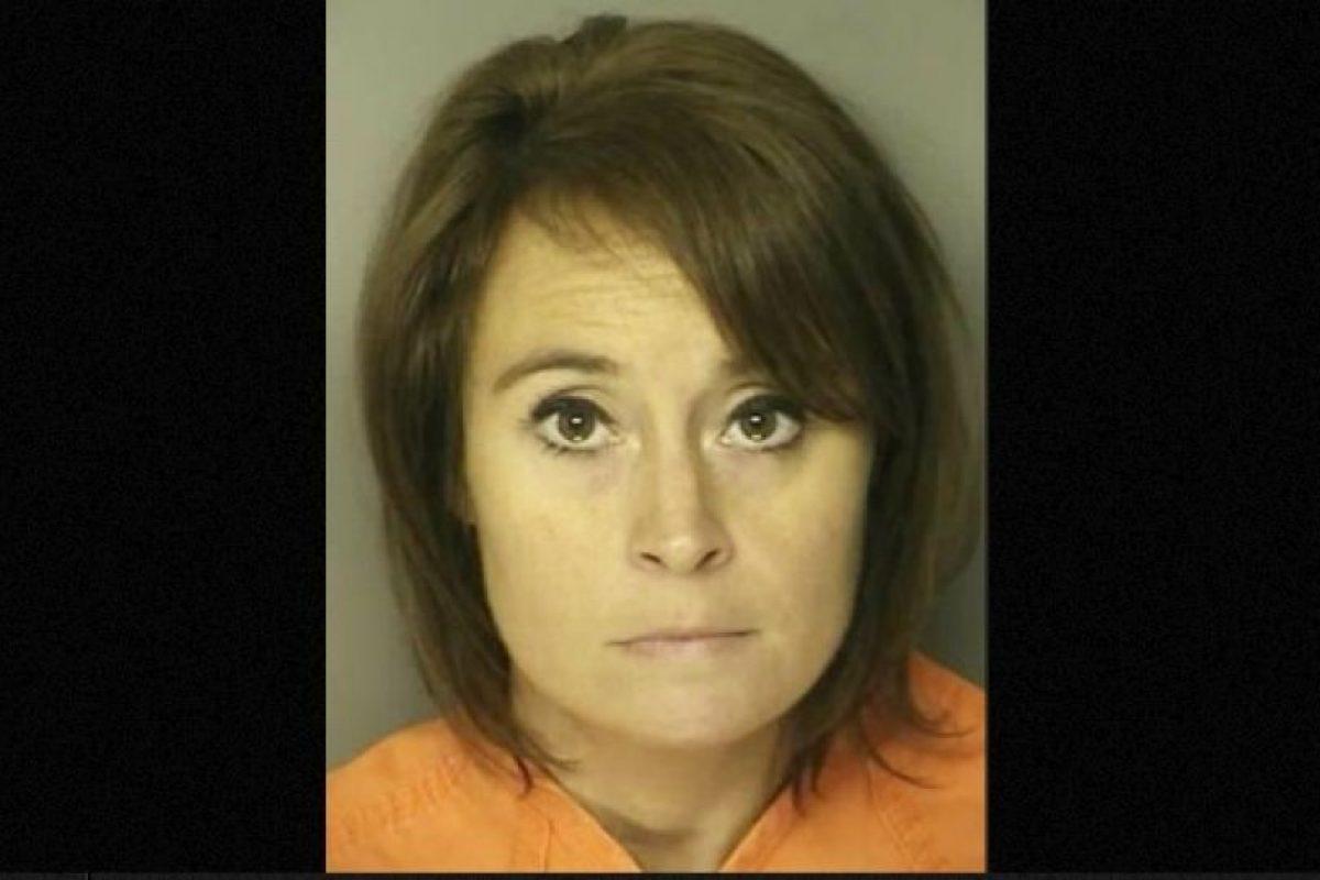 Ann Hope profesora de Carolina del Sur Carole fue arrestada por tener relaciones con un exestudiante de secundaria Foto:Reuben Long Detention Center. Imagen Por: