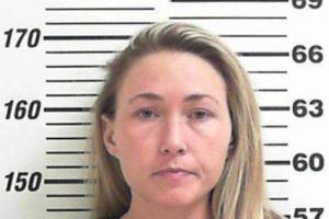 El momento de la detención de Brianne Altice Foto:Davis County Sheriff's Office. Imagen Por: