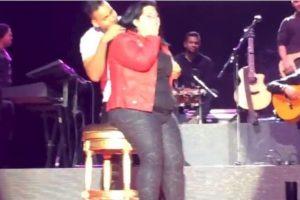 Romeo acostumbra consentir a sus fans con bailes. Foto:vía youtube.com. Imagen Por: