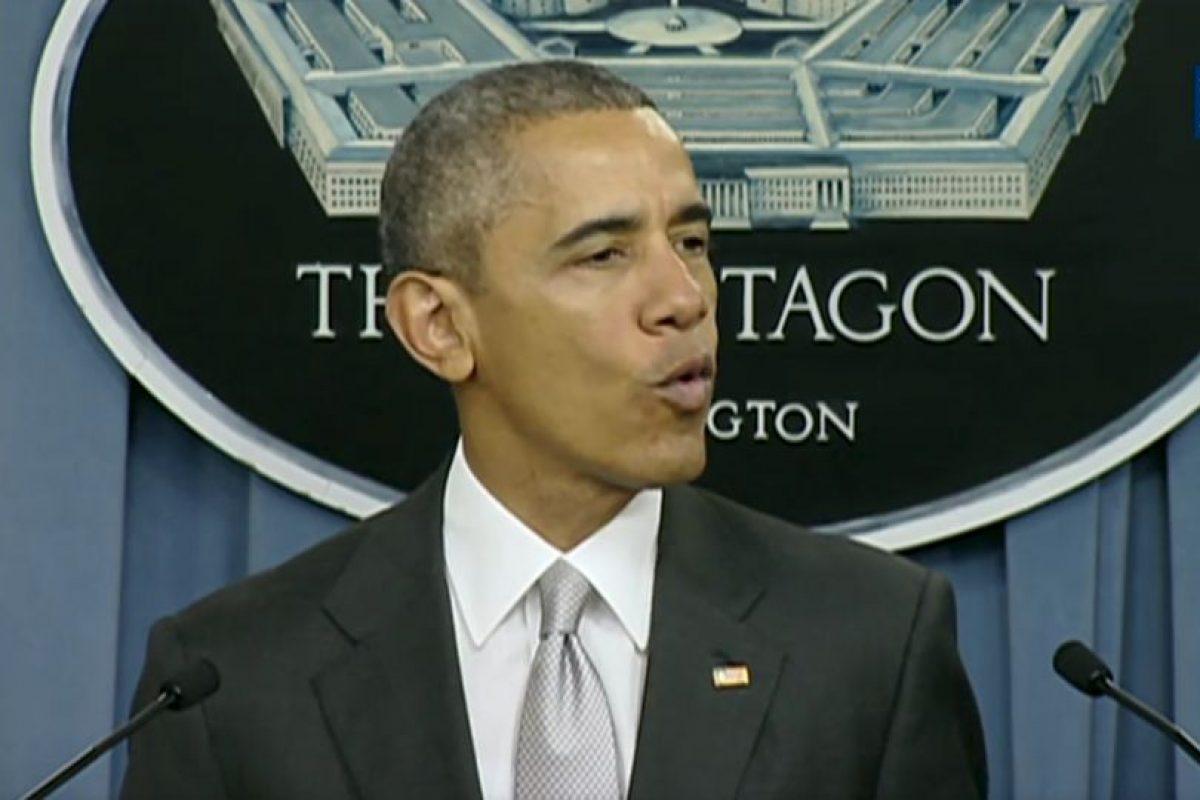 Barack Obama aseguró que el gobierno irá tras los líderes del grupo terrorista. Foto:White House. Imagen Por: