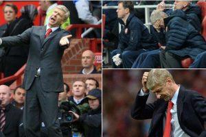 La reacción de Wenger Foto:Twitter. Imagen Por: