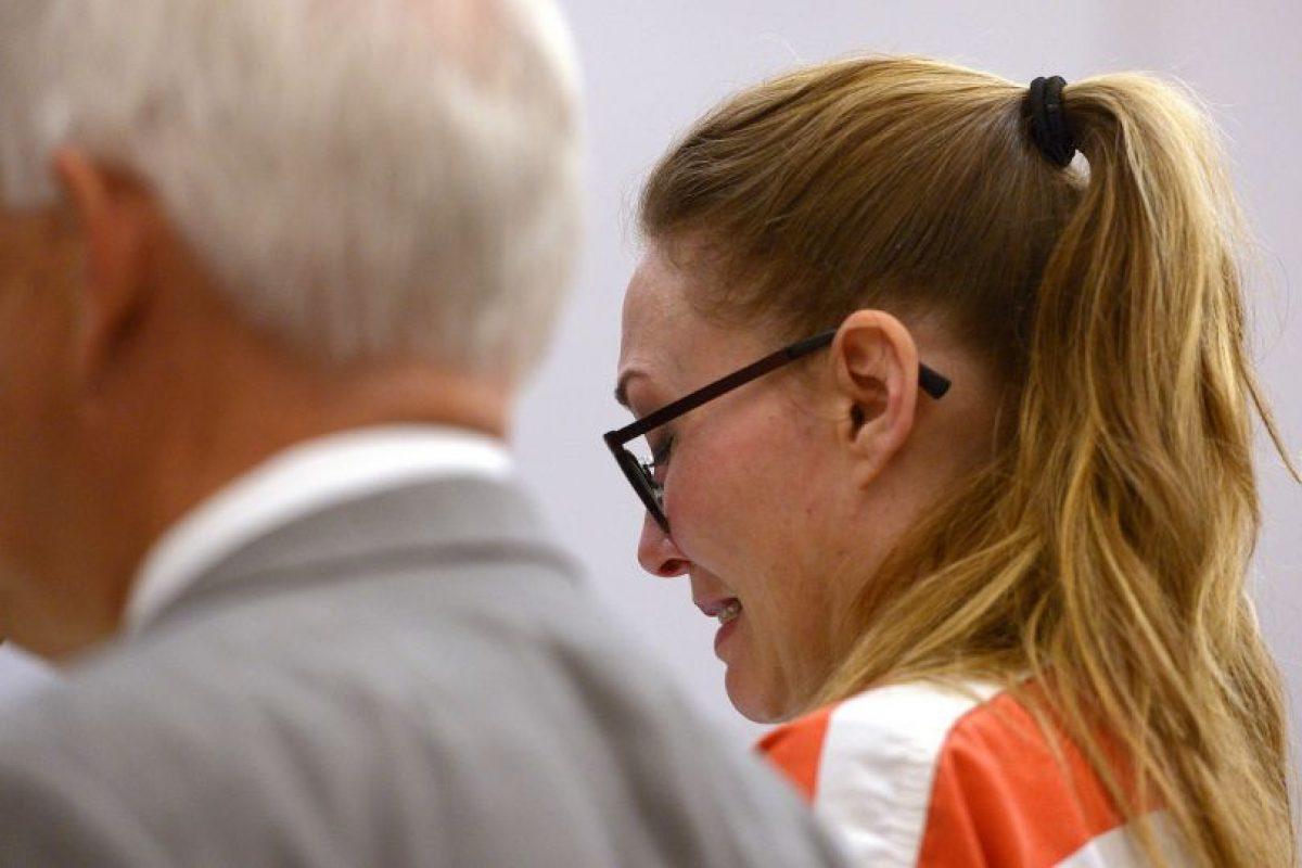 Al aceptar su culpabilidad, dijo estar arrepentida de ese error Foto:AP. Imagen Por:
