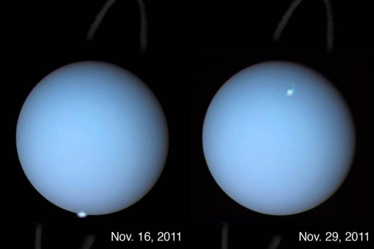 Urano Foto:NASA. Imagen Por: