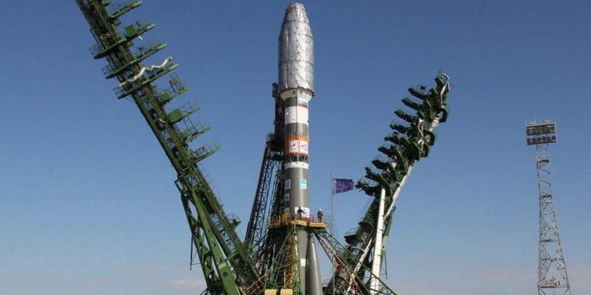 Despega cohete Soyuz con el primer británico que viaja a la ISS