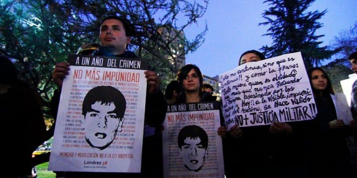 Corte ratifica sentencia de justicia militar sobre muerte de Manuel Gutiérrez