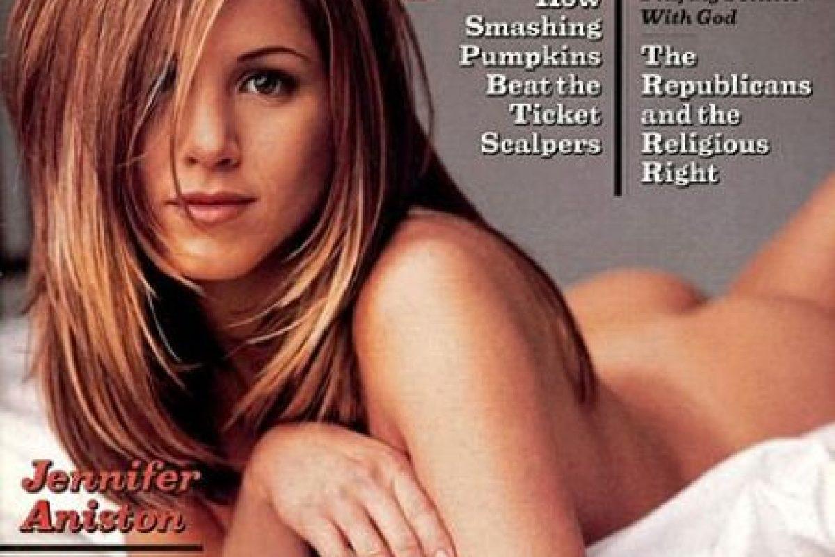 Con su fama, Aniston también se convirtió en una de las actrices más codiciadas de Hollywood. Foto:Rolling Stones. Imagen Por: