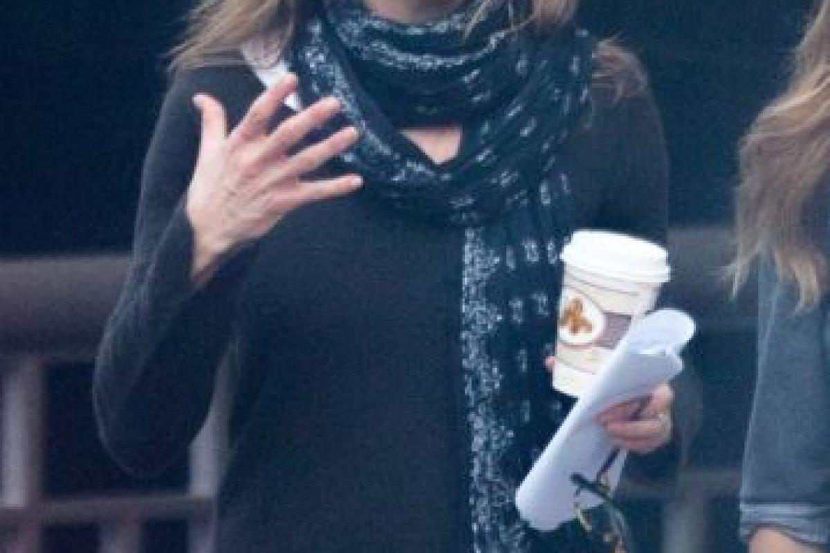 Jennifer se encuentra de regreso en el set de grabación Foto:The Grosby Group. Imagen Por: