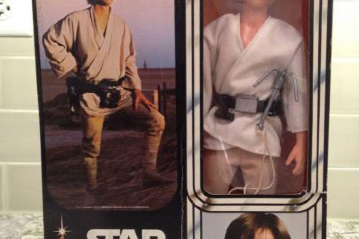 1- Kenner Vintage 1977 Star Wars Luke Skywalker Farmboy 12 Pulgadas. Foto:vía ebay.com. Imagen Por: