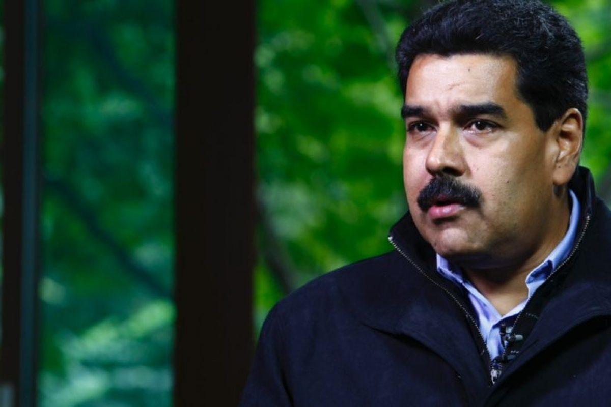 Nicolás Maduro, presidente de Venezuela, en 2013 Foto:Getty Images. Imagen Por: