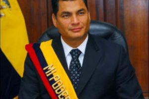 Rafael Correa, presidente de Ecuador, en 2007 Foto:Wikimedia. Imagen Por: