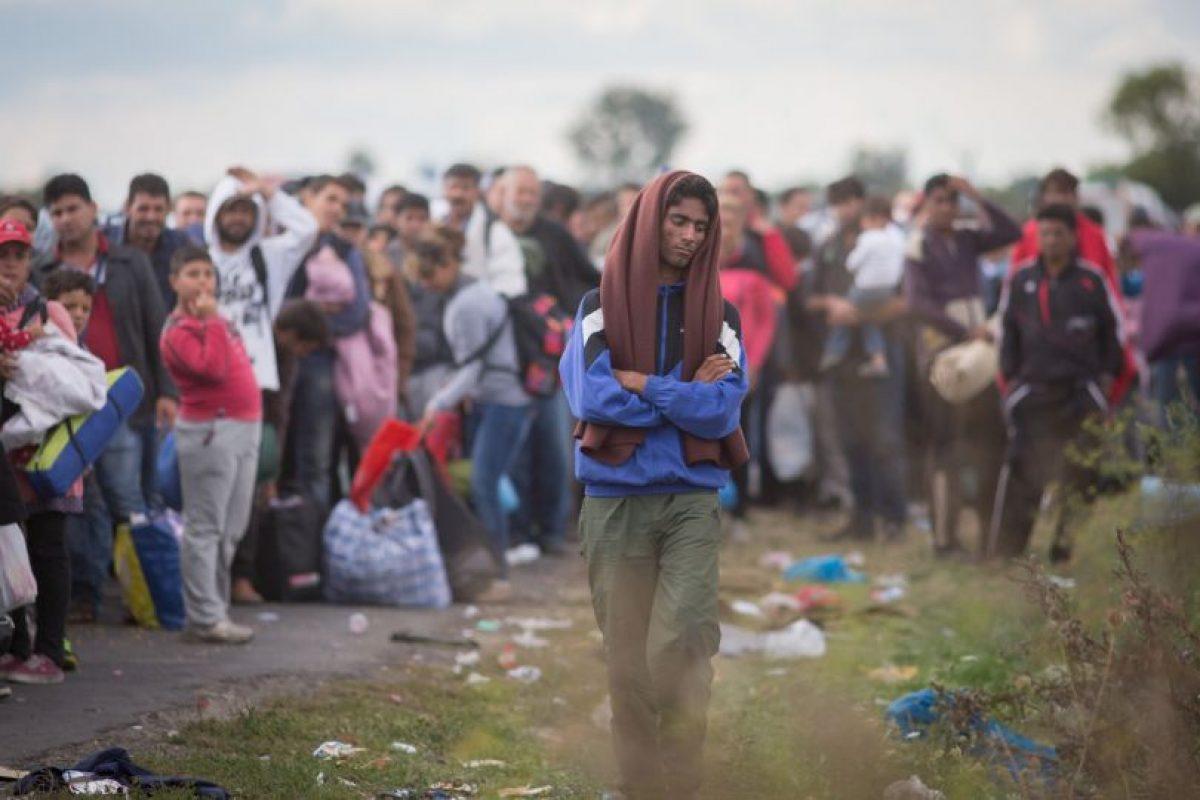 """La pasada semana la canciller fue escogida como la """"Persona del año"""" de la revista Time. Foto:Getty Images. Imagen Por:"""