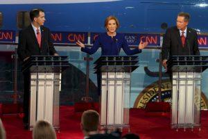 6. Mientras, Carly Fiorina tuvo un 5%. Foto:Getty Images. Imagen Por: