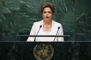Dilma Roussef en 2015 Foto:Getty Images. Imagen Por: