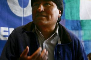 Evo Morales, presidente de Bolivia, 2005 Foto:Getty Images. Imagen Por: