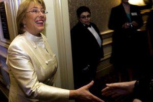 Michelle Bachelet, presidenta de Chile. Foto de 2006, de su primer mandato presidencial Foto:Getty Images. Imagen Por: