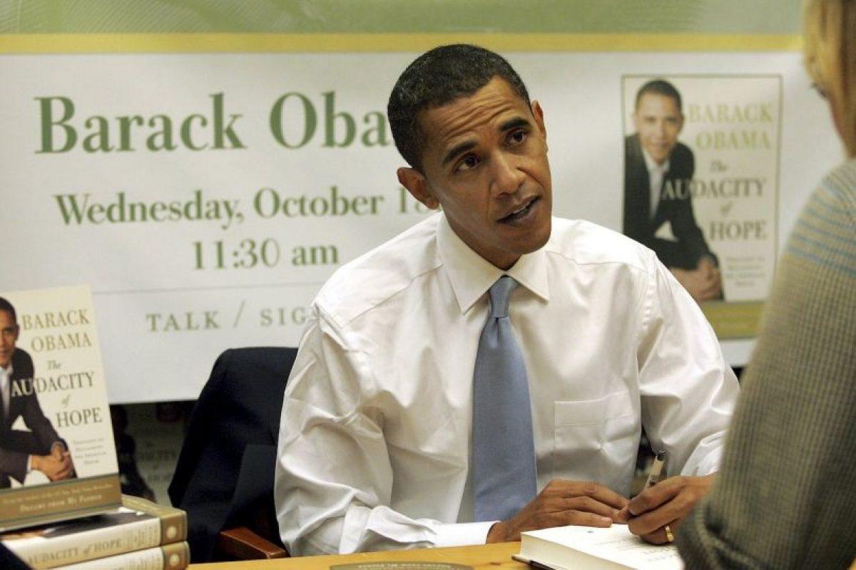 Barack Obama, 2008, rumbo a su primer año como presidente Foto:Getty Images. Imagen Por: