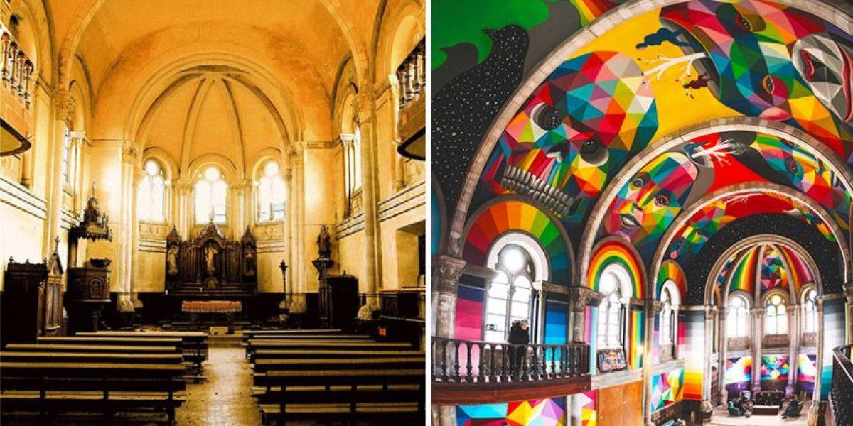 ¡Wow! Iglesia es convertida en parque de skate